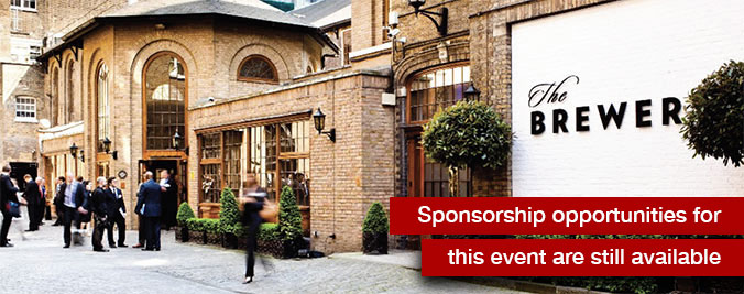 The Brewery, 52 Chiswell St, London - Sponsorship opportunities for this event are still available