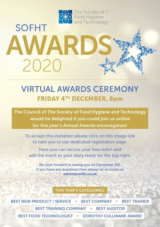 Virtual Awards Ceremony - Register for your place